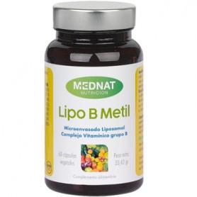 MEDNAT LIPO B METIL COMPLEJO VITAMINICO GRUPO B 60 CAPSULAS