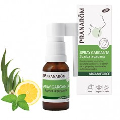 PRANAROM AROMAFORCE SPRAY PARA LA GARGANTA CON EUCALIPTO 15 ML