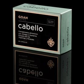 GOAH CLINIC CABELLO NATURAL BEAUTY COMPLEMENTO ALIMENTICIO A BASE DE OMEGA 3 Y QUERATINA 60 CAPSULAS