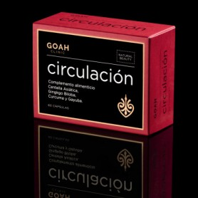 GOAH CLINIC CIRCULACION CON CENTELLA ASIATICA Y GINKGO BILOBA 60 CAPSULAS