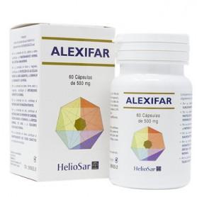 HELIOSAR ALEXIFAR 60 CAPSULAS DE 500 MG HOMEOSPAGYRIA