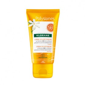 KLORANE POLYSIANES CREMA SOLAR FACIAL SUBLIME SPF 50 50 ML