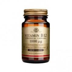 SOLGAR VITAMINA B12 100 COMPR 1000 MCG SUBLINGUALES