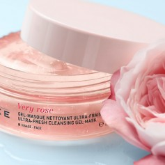 NUXE VERY ROSE MASCARILLA GEL FACIAL LIMPIADORA ULTRA FRESCA 150 ML