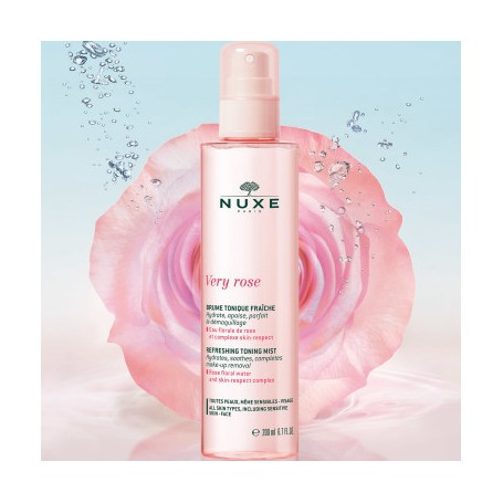 NUXE VERY ROSE TONICO BRUMA REFRESCANTE HIDRATANTE 200 ML