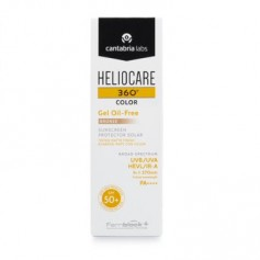 HELIOCARE 360 COLOR GEL OIL-FREE BRONZE FOTOPROTECTOR FACIAL SPF 50 50 ML