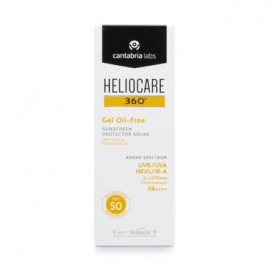 HELIOCARE 360º GEL OIL FREE DRY TOUC FOTOPROTECTOR SPF 50 50 ML