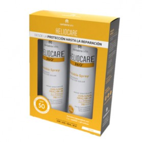 HELIOCARE PACK FOTOPROTECTOR CORPORAL 360 SPRAY INVISIBLE 2X200 ML