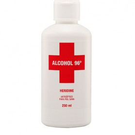 INTERAPOTHEK ALCOHOL 96 HERIDINE ANTISEPTICO USO TOPICO 250 ML