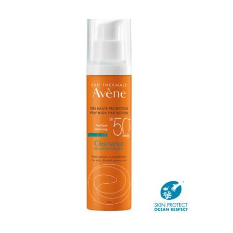 AVENE CLEANANCE PROTECTOR SOLAR 50+ MATIFICANTE PIEL GRASA CON TENDENCIA ACNEICA 50 ML