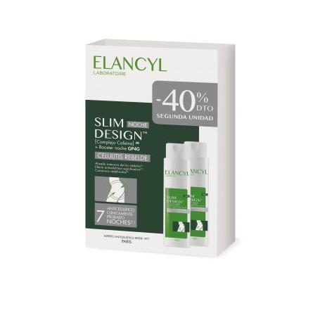ELANCYL PACK SLIM DESIGN NOCHE CELULITIS REBELDE 2X200 ML