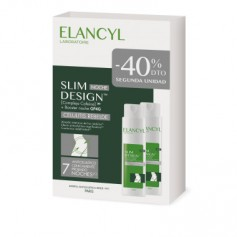 ELANCYL PACK SLIM DESIGN NOCHE CELULITIS REBELDE 2X200 ML