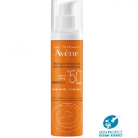AVENE SOLAR 50+ PROTECTOR SOLAR EN EMULSION FLUIDA COLOREADA 50 ML