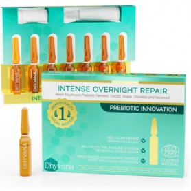 DHYVANA INTENSE OVERNIGHT REPAIR CELLULAR REPAIR 7 AMPOLLAS