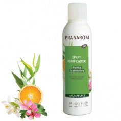 PRANAROM SPRAY PURIFICADOR DESINFECTA, PURIFICA Y SANEA EL AIRE BIO ECO 30 ML