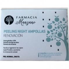 BE NICE BY FARMACIAMANZANO PEELING NIGHT RENOVACION NORMAL/MIXTA 5 AMPOLLAS