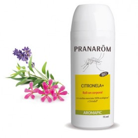 PRANAROM AROMAPIC ROLL-ON CITRONELA PLUS LECHE CORPORAL ANTIMOSQUITOS 75 ML