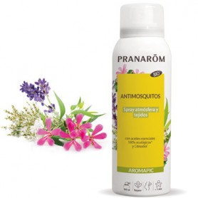 PRANAROM AROMAPIC BIO SPRAY AMBIENTAL ANTI MOSQUITOS ATMOSFERA Y TEJIDOS 100ML