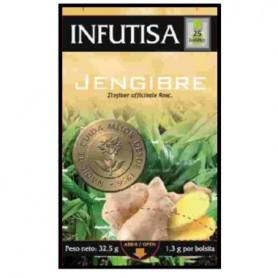 INFUTISA INFUSION DE JENGIBRE 25 BOLSITAS