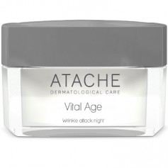 ATACHE VITAL AGE WRINKLE ATTACK NIGHT CREMA ANTIEDAD INTENSIVA 50 ML