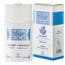 BLUE CAP CHAMPU HIGIENE DIARIA PIEL CON TENDENCIA A PSORIASIS 400ML CATALYSIS