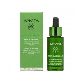APIVITA BEE RADIANT SERUM LUMINOSIDAD&ANTIFATIGA 30 ML
