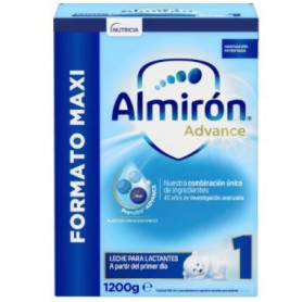 ALMIRON 1 ADVANCE+ PRONUTRA 0-6 MESES POLVO FORMATO MAXI 1200 G