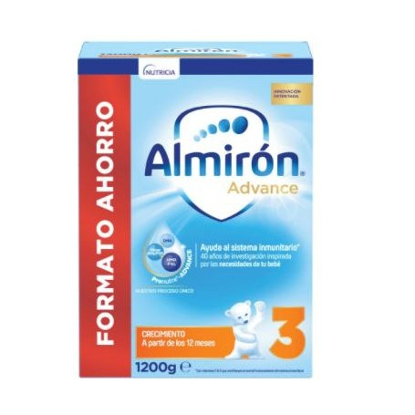 ALMIRON 3 ADVANCE+ PRONUTRA 3 +12 MESES POLVO 1200 G
