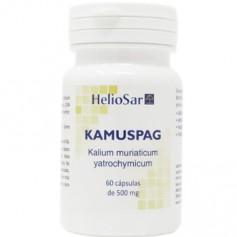 HELIOSAR KAMUSPAG (KAMUSAR) KALIUM MURIATICUM 500 MG 60 CAPSULAS HOMEOSPAGYRIA