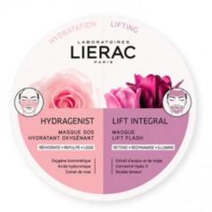 LIERAC DUO MASK MASCARILLAS HYDRAGENIST- LIFT INTEGRAL 2X6 ML