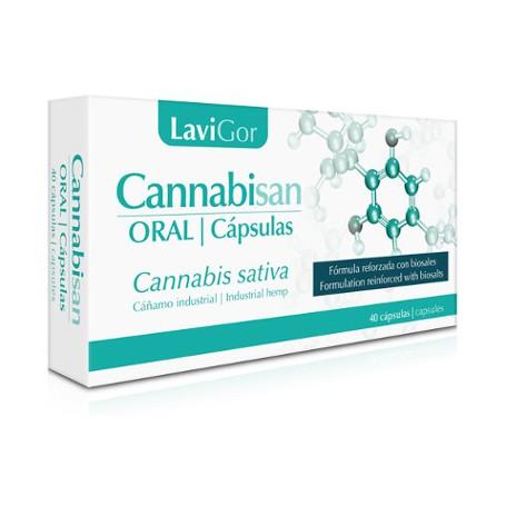 LAVIGOR CANNABISAN ORAL CAPSULAS 60 CAPSULAS