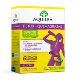 AQUILEA DETOX+QUEMAGRASAS PLAN EXPRES 10 DIAS