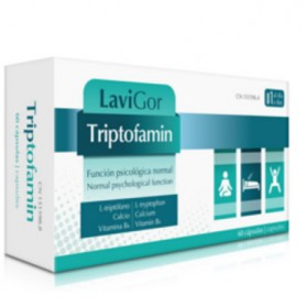 LAVIGOR TRIPTOFAMIN TRIPTOFANO, CALCIO Y VITAMINA B6 60 CAPSULAS