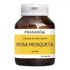 PRANAROM CAPSULAS DE ACEITE VEGETAL ROSA MOSQUET 60 CAPSULAS