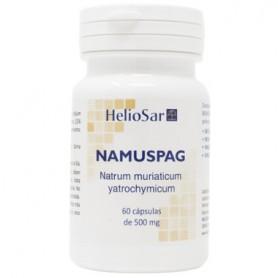 HELIOSAR NAMUSPAG (NAMUSAR) (NATRUM MURIATICUM ) 60 CAPSULAS HOMEOSPAGYRIA