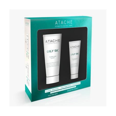 ATACHE PACK OILY SK BALANCING CREAM II 50 ML + MASCARILLA 100ML