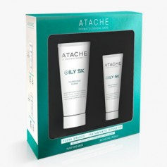 ATACHE PACK OILY SK BALANCING CREAM II 50 ML + MASCARILLA 100ML