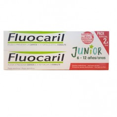 FLUOCARIL JUNIOR GEL FRUTOS ROJOS 6-12 AÑOS 2X75 ML