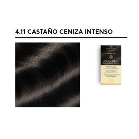 APIVITA COLOR ELIXIR TINTE PERMANENTE NATURAL 4.11 BROWN INTENSE ASH