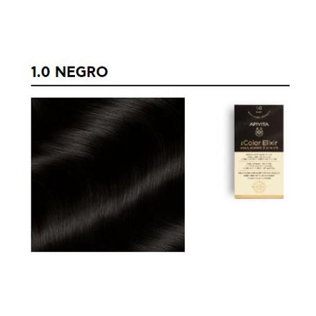 APIVITA TINTE PERMANENTE NATURAL 1.0 BLACK NEGRO