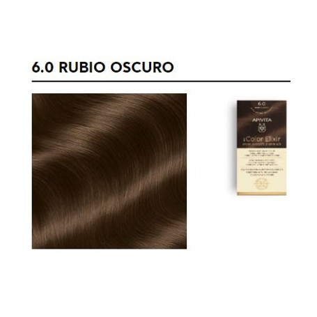 APIVITA TINTE PERMANENTE NATURAL 6.0 RUBIO OSCURO DARK BLOND