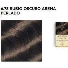 APIVITA COLOR ELIXIR TINTE PERMANENTE 6.78 RUBIO OSCURO ARENA PERLADO