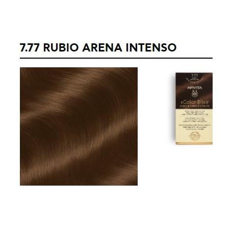 APIVITA COLOR ELIXIR TINTE PERMANENTE NATURAL 7.77 BLONDE INTENSE SAND