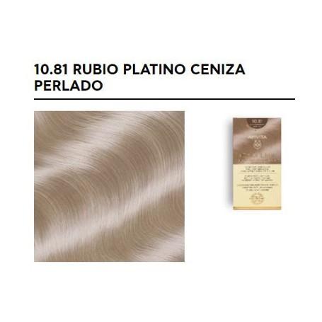 APIVITA COLOR ELIXIR TINTE NATURAL PERMANENTE 10.81 RUBIO PLATINO CENIZA PERLADO