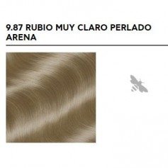 APIVITA COLOR ELIXIR TINTE PERMANENTE NATURAL 9.87 RUBIO MUY CLARO PERLADO VERY LIGHT BLONDE PEARL SAND