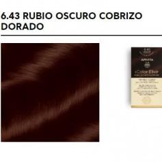 APIVITA COLOR ELIXIR TINTE PERMANENTE 6.43 RUBIO OSCURO COBRIZO DORADO