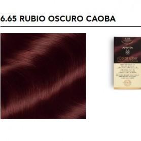 APIVITA COLOR ELIXIR TINTE PERMANENTE NATURAL 6.65 DARK BLONDE RED MAHOGANY