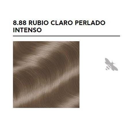 APIVITA COLOR ELIXIR TINTE PERMANENTE NATURAL 8.88 RUBIO CLARO INTENSO PERLADO LIGHT BLONDE INTENSE PEARL