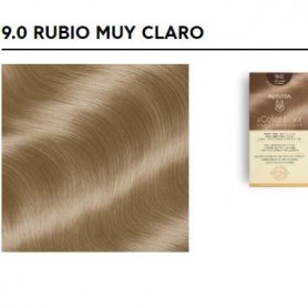 APIVITA COLOR ELIXIR TINTE PERMANENTE NATURAL 9 RUBIO MUY CLARO VERY LIGHT BLONDE