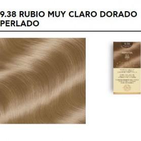 APIVITA COLOR ELIXIR TINTE PERMANENTE NATURAL 9.38 RUBIO MUY CLARO PERLADO VERY LIGHT GOLD PEARL